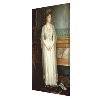 Princess Victoria Eugenie, Queen of Spain Canvas Print