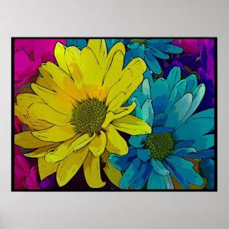 Print - Bold Blossoms