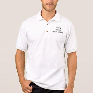 Printed Polo Shirt (Black Text)