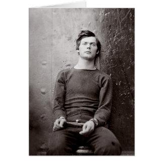 Prisoner Portrait, 1865 Card