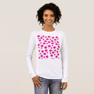 Pritty In Pink Long Sleeve T-Shirt