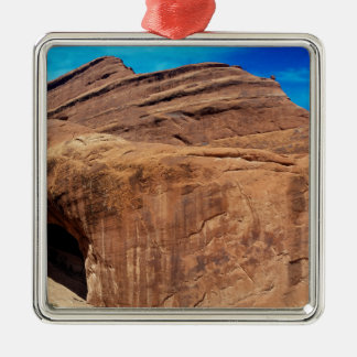 Private Arch Arches National Park Silver-Colored Square Decoration