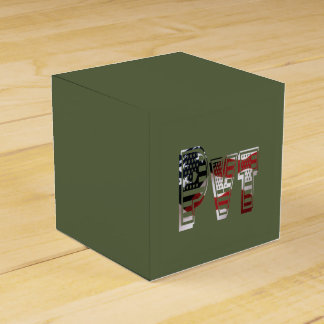 Private USA Military Army Green American Pvt Favour Box