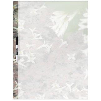 Privet Blossoms on Granite Dry Erase Whiteboard