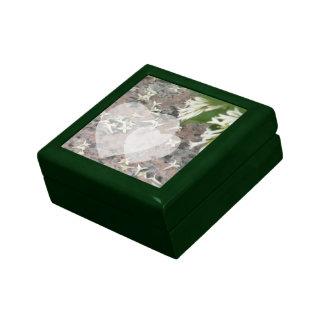 Privet Blossoms on Granite Gift Boxes