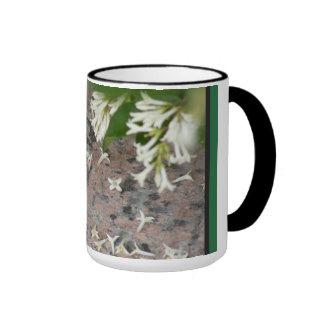 Privet Blossoms on Granite Mug