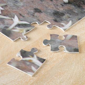 Privet Blossoms on Granite Jigsaw Puzzles