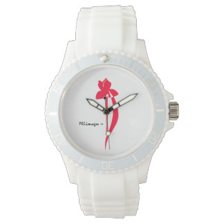 PRLimages Red Iris Watch