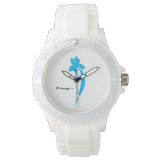 PRLimages Turquoise Iris Watch