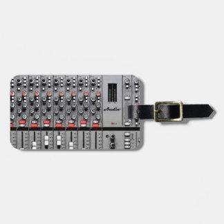 Pro Audio Mixer Luggage Tag