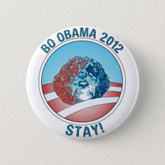 Pro-Bo Obama Dog 2012 6 Cm Round Badge