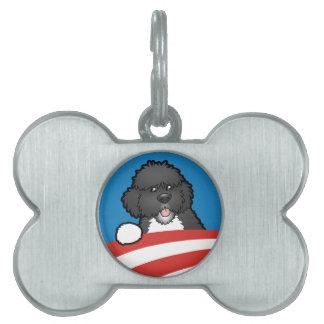 Pro First Dog Bo Obama Pet ID Tag
