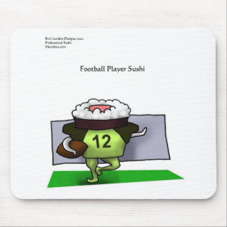 Pro Football Sushi Gifts Tees Mugs Cards Etc Mouse Pad
