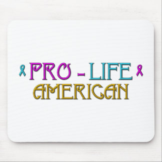 Pro-Life American Mouse Pad