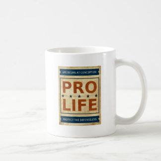 Pro Life Billboard Basic White Mug