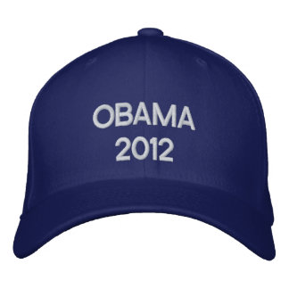 Pro Obama 2012 Embroidered Hat