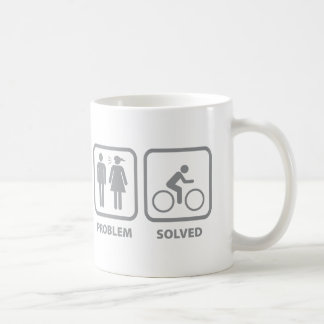 Problem Solved Cycling Mugs
