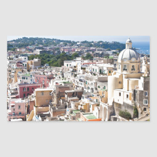 Procida Isle Rectangular Sticker