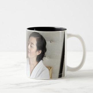 Produced in Beijing, China 2 Two-Tone Coffee Mug