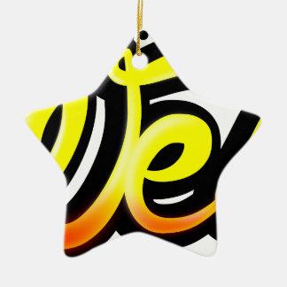 Product graffiti wesh christmas ornament