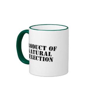 Product Of Natural Selection Ringer Mug