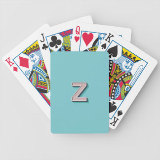 Product with letter Z Poker Deck
