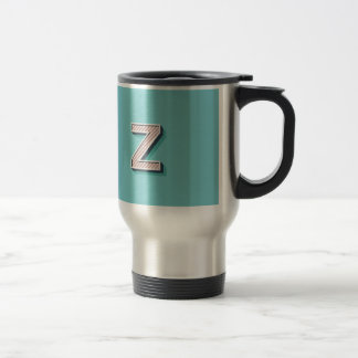 Product with letter Z Travel Mug