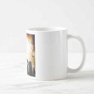 Products with Horror Theme Basic White Mug