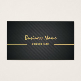 Professional Black Twill Simple Minimalist