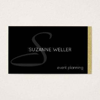 professional business card for event planners