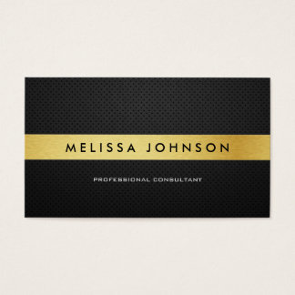 Professional Elegant Modern Black and Gold