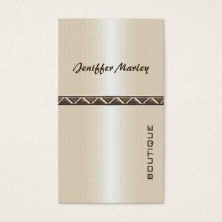Professional elegant modern luxury shiny business card