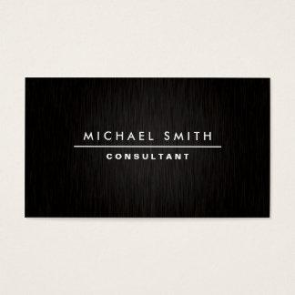 Professional Elegant Modern Plain Simple Black