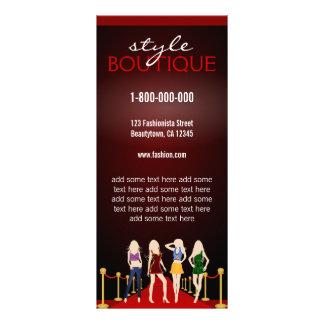Professional Fashion Stylist Rack Cards
