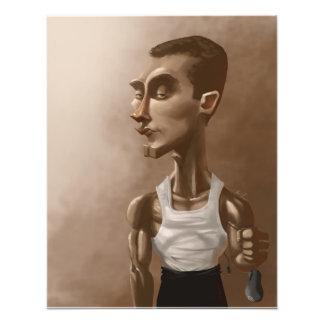 "Professional Gamer Greg ""IdrA"" Fields Caricature Photo Print"