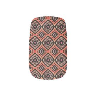 Professional manicure tribal nail art set