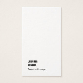 Professional minimalist modern thick luxury trendy business card