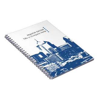Professional modern general business cityscape… spiral note books
