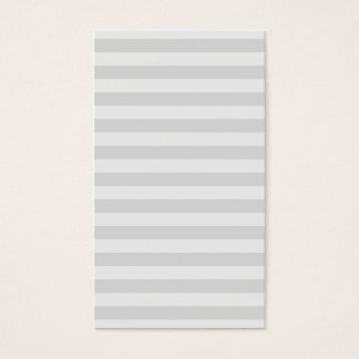 Professional modern gray stripes pattern simple business card