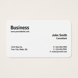 Rounded Corners Business Cards And Rounded Corners Business - Rounded corner business card template