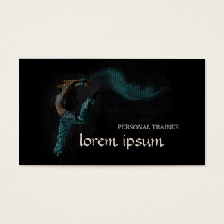 professional Personal Trainer Dancer Card