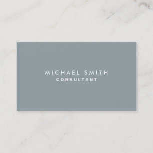 Business cards business card printing zazzle nz professional plain elegant interior decorator grey business card reheart Images