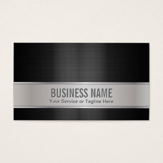 Professional Plain Metal & Silver Business Cards