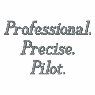 professional precise pilot Small Logo embroidered Embroidered Shirt