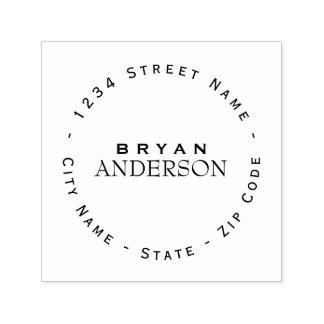 Professional Return Address Self-inking Stamp