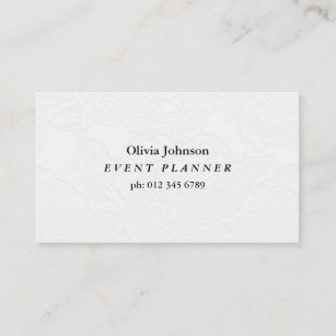 Embossed business cards zazzle nz professional white business card non embossed reheart Gallery