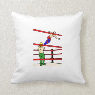 Professional Wrestling Throw Pillows