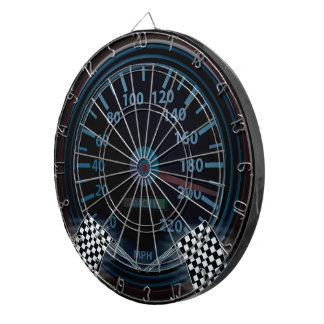 ProfiledInk Dart Board SPEEDOMETER FINISH FLAG