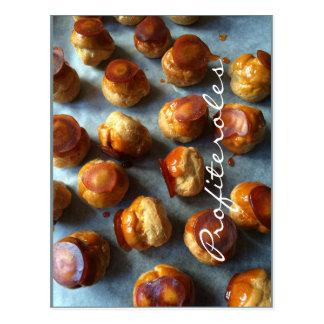 Profiteroles Caramel Postcard