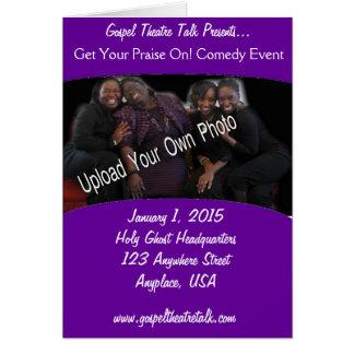 Program: Purple Fill In the Blank Card